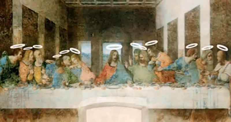 a critique of the painting the last supper essay Other paintings of the last supper, for instance those by castagno or ghirlandaio, make it a solemn and meditative occasion, as ross king says - a moment of communion before the arrest of.